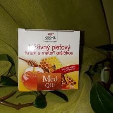 Pleťový krém Med + Q10