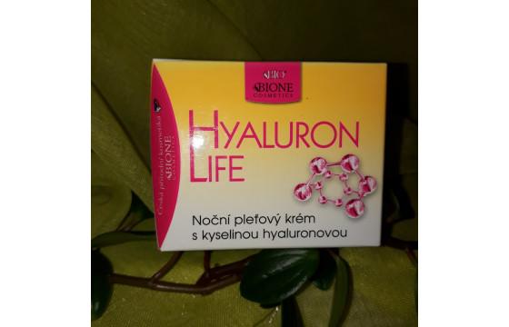 Pleťový krém s kyselinou hyaluronovou