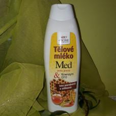 Telové mlieko Med + Q10