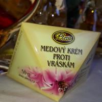 Pleťový krém proti vráskam med