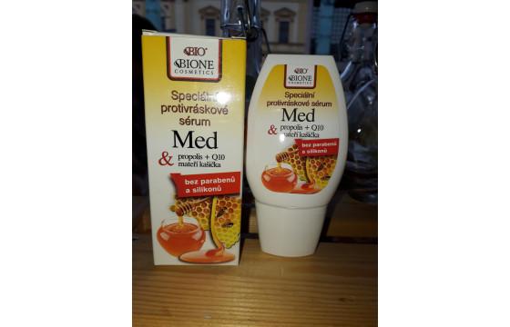 Špeciálne protivráskové sérum med 40 ml
