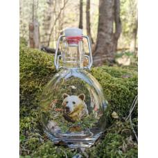 Ploskačka 0,2L medveď